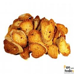Pan tostado de lenteja