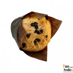 Muffin con pepitas de...