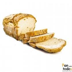 Pan de molde semillas