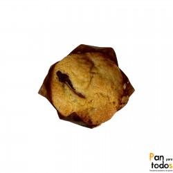 Muffin rellena de crema de...