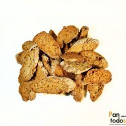 Pan tostado de semillas