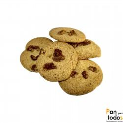 Cookies sin azúcar con nueces