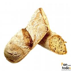 Barra de pan con semillas