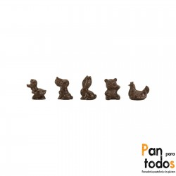 Figuritas de chocolate