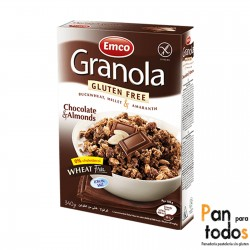 Granola con chocolate y...