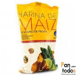 Harina de maíz de molino de...