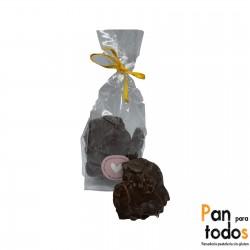 Rocas de chocolate y...