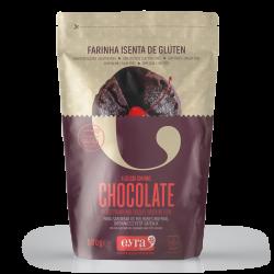 Harina con chocolate